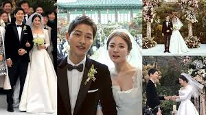 wedding dress song everything you need to about song joong ki song hye kyo s