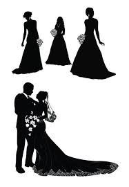 Groom And Groom Wedding Card 9 Best Bride And Groom Silhouettes Images On Pinterest