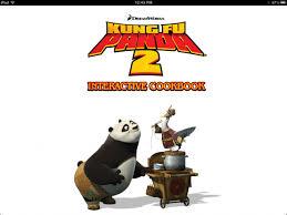 kung fu panda 2 interactive cookbook ipad digital