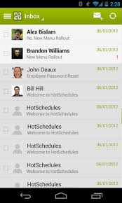 hotschedules apk hotschedules v2 23 6 android applications android zone