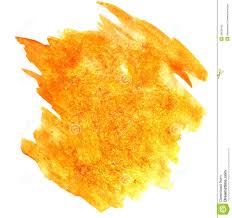 splash paint yellow blot watercolour color water ink isolated wa