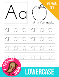 alphabet preschool printables