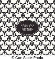 skull wrapping paper vector of geometric seamless pattern with skulls and bones