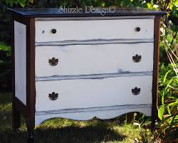Painted Bedroom Dressers by Shizzle Design Petite Antique Dresser Painted In Annie Sloan U0027s