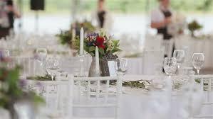 wedding preparation for preparation wedding festive table stock footage 22202545