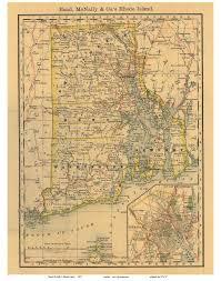 Block Island Map Ri State Maps