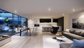 modern house inside home design