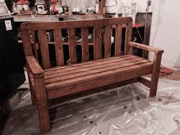 Plans For Making A Wooden Garden Bench by 15 Free Bench Plans For The Beginner And Beyond