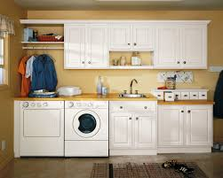 White Laundry Room Wall Cabinets Interior Design Photos Laundry Room Decorating Ideas A Happy