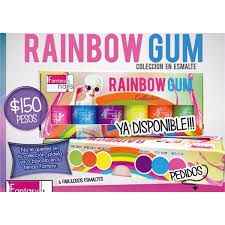 colección de esmaltes fantásy nails rainbow gum 150 00 en