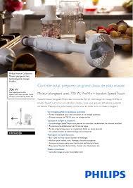mixeur plongeant puissant philips avance collection mixeur plongeant manuel d u0027utilisation