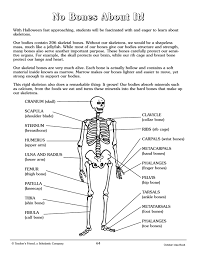 picture of a halloween skeleton crafty symmetric skeletons scholastic