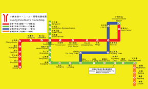 Guangzhou Metro Map by Guangzhou Metro Route Map Guangzhou China U2022 Mappery