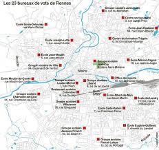 bureau de vote rennes horaires primaire à gauche la carte des bureaux de vote à rennes