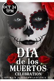 6 dia de los muertos posters that are absolutely eye candy