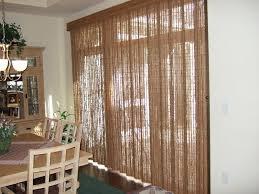 wooden patio door blinds faux wood vertical look blind inserts