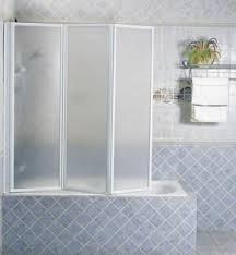 Trackless Bathtub Doors Folding Bathtub Doors Open Travel