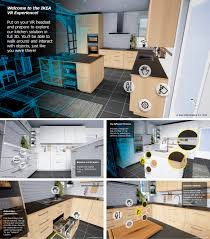 Ikea Kitchen Discount 2017 Ikea Launches Pilot Virtual Reality Vr Kitchen Experience For