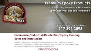 commercial epoxy flooring lebanon pa
