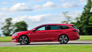 vauxhall red vauxhall insignia sports tourer 2017 review by car magazine