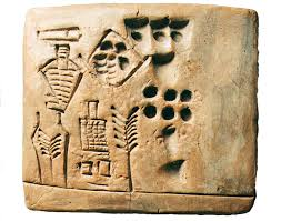 how to write a research paper on a historical person who s the first person in history whose name we know phenomena picture of an ancient tablet depicting beer production inanna temple in uruk