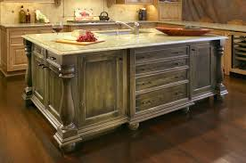 distressed island kitchen distressed green kitchen island quicua com regarding islands