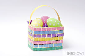 easter egg baskets to make adorable easter baskets you can diy in a snap