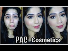 Makeup Pac pac cosmetics one brand makeup tutorial arushi pahwa http