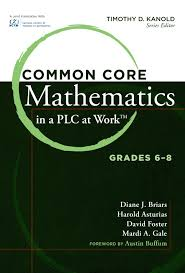 common core mathematics in a plc at work grades 6 8 by solution