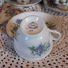 royal vale blue cornflowers teacup and saucer urban whisk