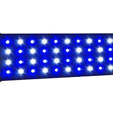 led aquarium light with timer amazon com se quad 3w timer series led aquarium light marine fowlr