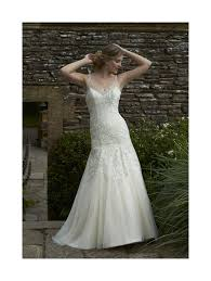 romantica maria light gold with ivory lace wedding gown size 12 in