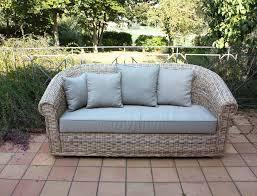 divanetto vimini arredamento per esterno mobili da giardino salotti per esterno