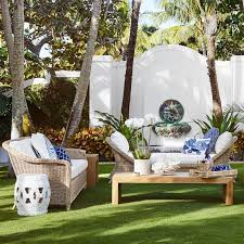 Resort Style Patio Furniture Outdoor Lounge Furniture Williams Sonoma