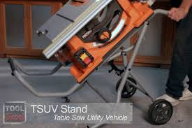 Table Saw Stand With Wheels Ridgid 45101 10