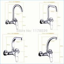 wall mount kitchen faucet single handle wall mount rotatable kitchen faucet single handle 2 sink
