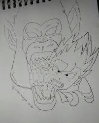 goku sketches dragonballz amino