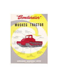 bombardier muskeg tractor sales literature flynn u0027s tractor