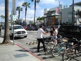lexus santa monica service dept bike corrals archives biking in la