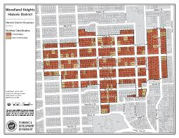 houston map districts city of houston historic preservation manual historic district