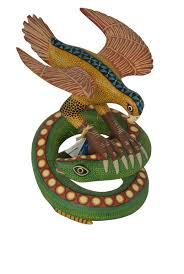 eagle u0026 snake genuine oaxacan art
