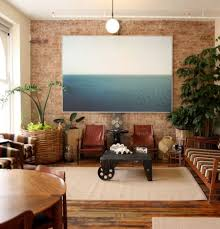 40 vintage living room with exposed brick decor homedecort