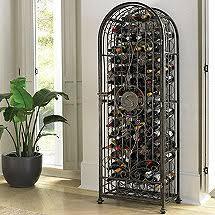 parisian wrought iron wine rack wine enthusiast