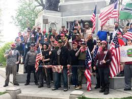 White Power Flags Trump Supports Anti Protestors Page 2 Politicalforum Com