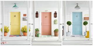 painting your front door the easy way the diy village 5 colorful themes for your front door front door makeover ideas
