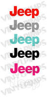 jeep wave stickers jeep wrangler replacement lettering sahara jk tj vinyl