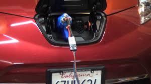 nissan leaf not charging emotorwerks 12kw charger charging a nissan leaf youtube