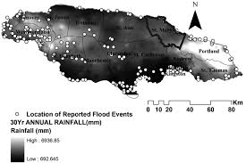 Portland Flooding Map by Flooding In Jamaica With Assessment Of Riverine Inundation Of Port