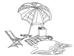 wonderful summer beach coloring pages womanmate com
