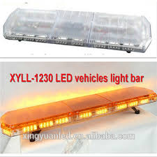 warning light bar amber 59 warning emergency ambulance led light bar 1500mm flash strobe